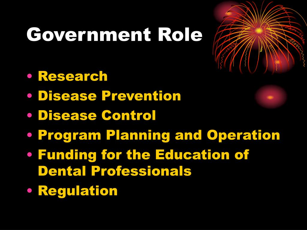 Government Role
