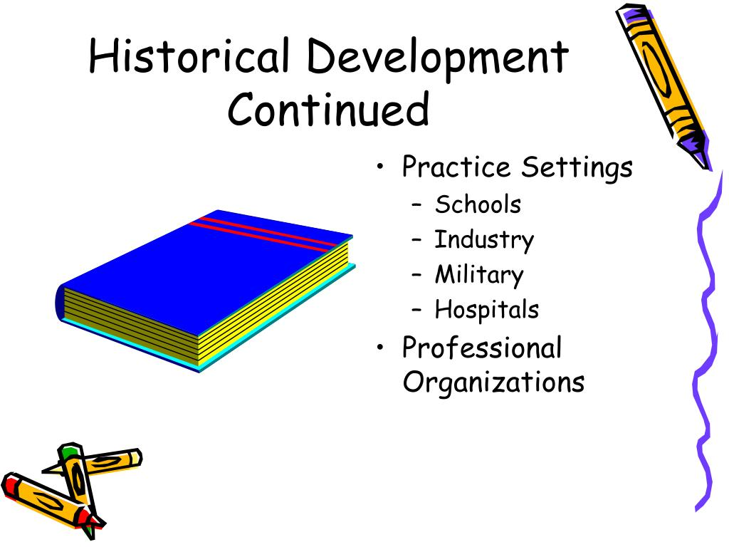 Historical Development Continued