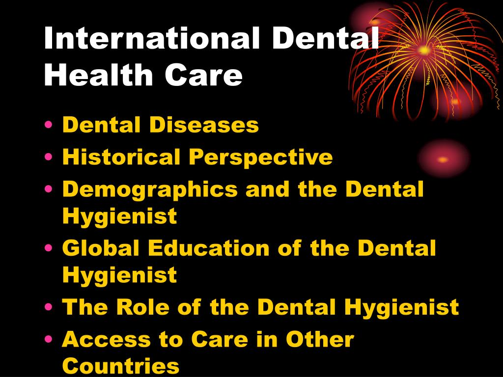 International Dental Health Care