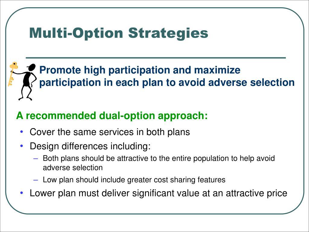 Multi-Option Strategies