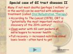 special case of gi tract diseases ii