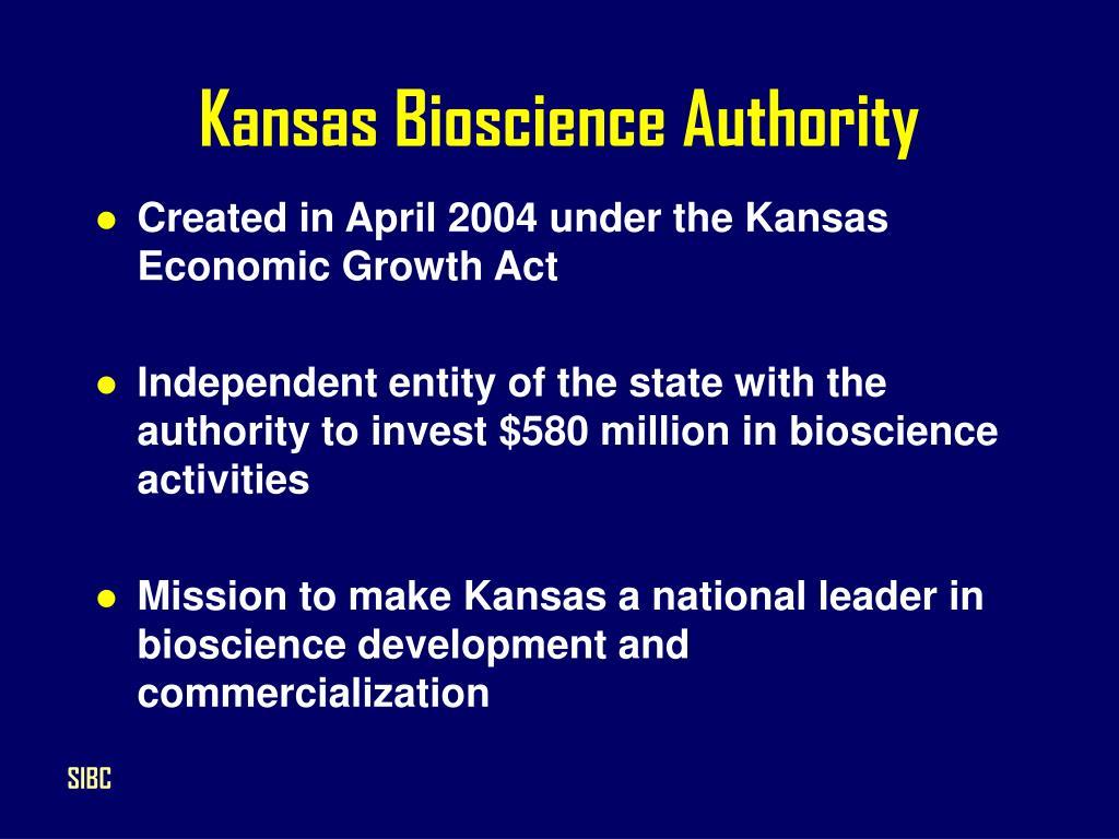 Kansas Bioscience Authority