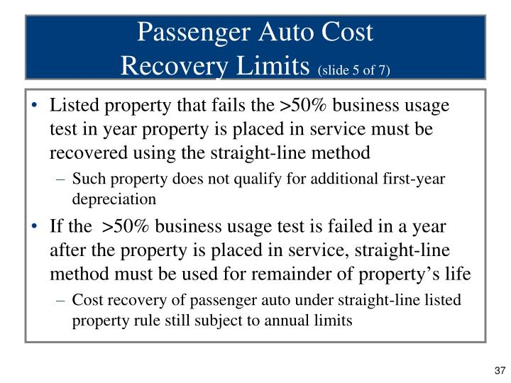 Passenger Auto Cost
