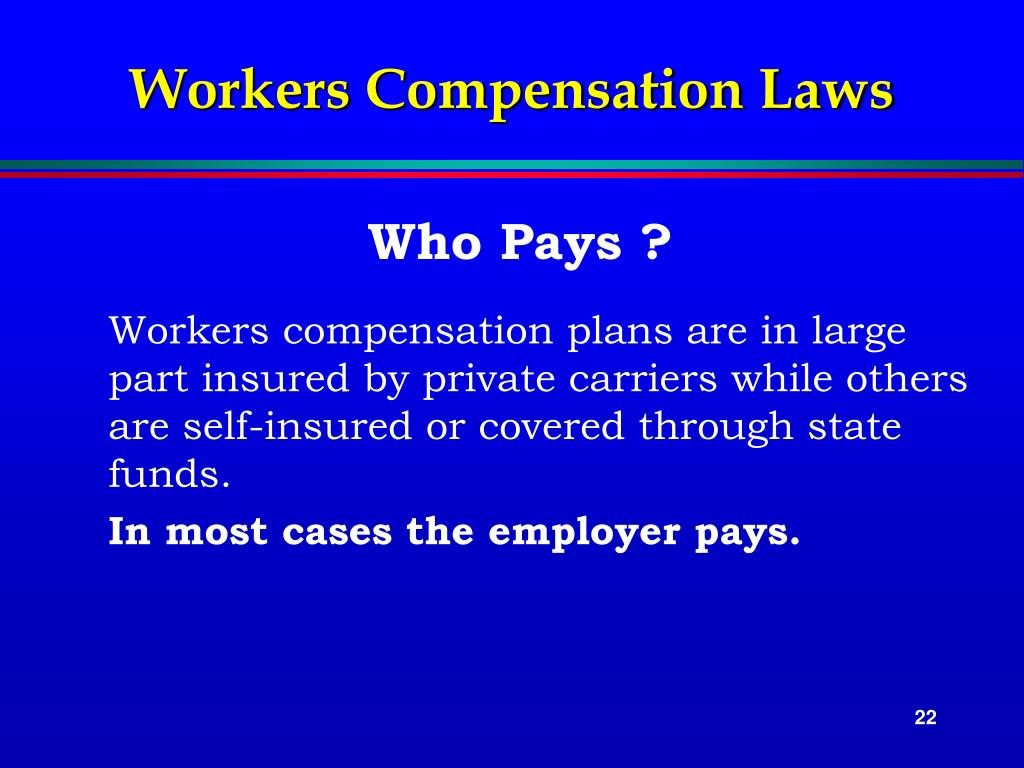 Workers Compensation Laws