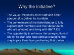why the initiative