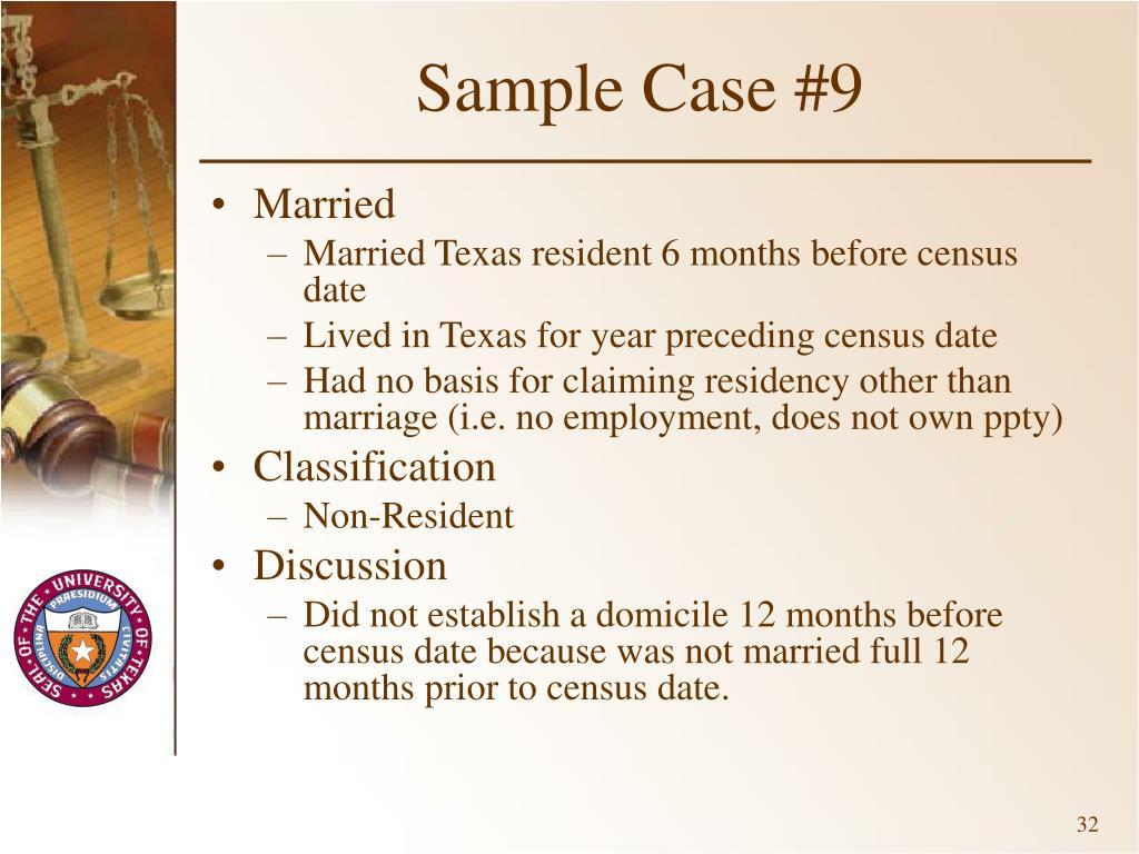 Sample Case #9