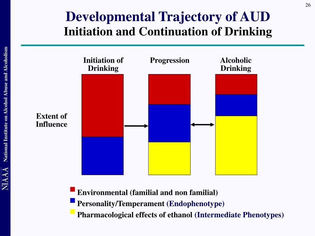 Developmental Trajectory of AUD