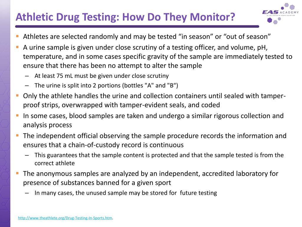 Athletic Drug Testing: How Do They Monitor?