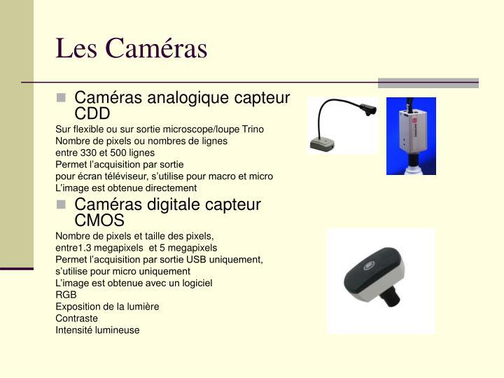 Les Caméras