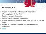 tackle ruck