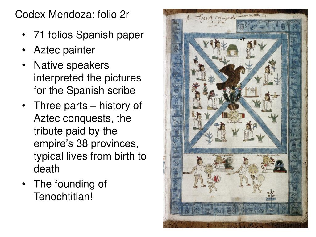 Codex Mendoza: folio 2r
