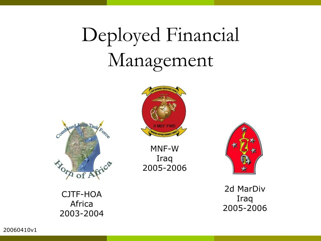 Deployed Financial Management
