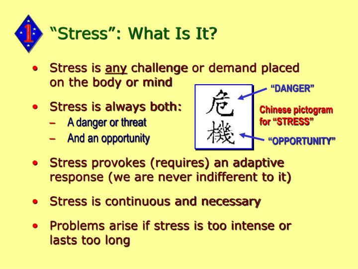 Stress what is it