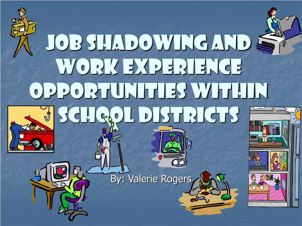 Job Shadowing and Work Experience