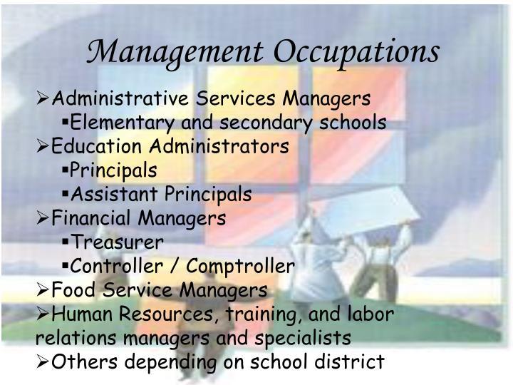 Management Occupations