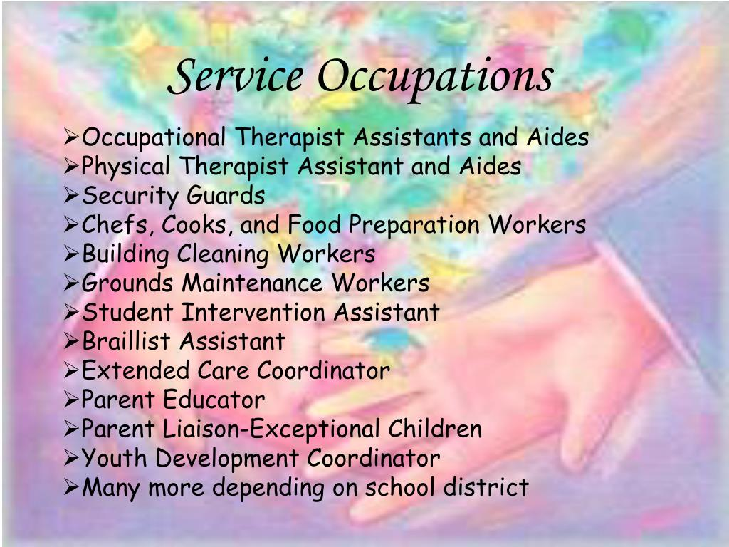 Service Occupations