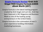 empire formula review grab anik singal free empire formula 300k ebook worth 972