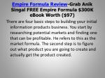 empire formula review grab anik singal free empire formula 300k ebook worth 975