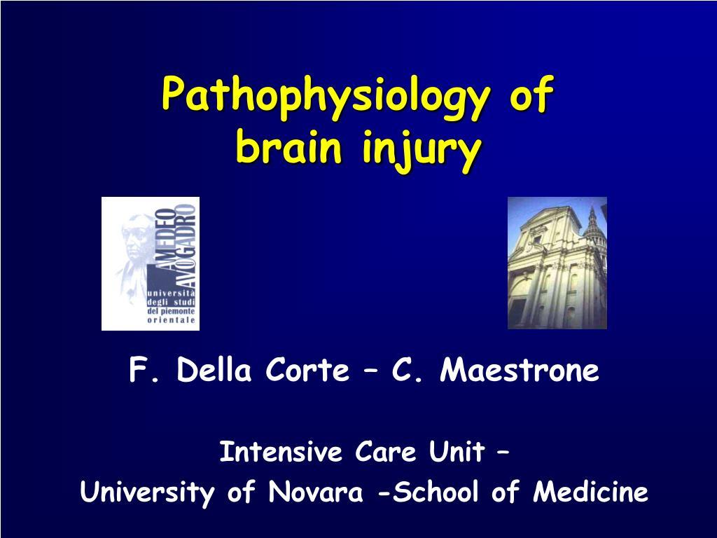 Pathophysiology of