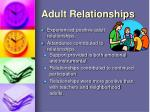 adult relationships