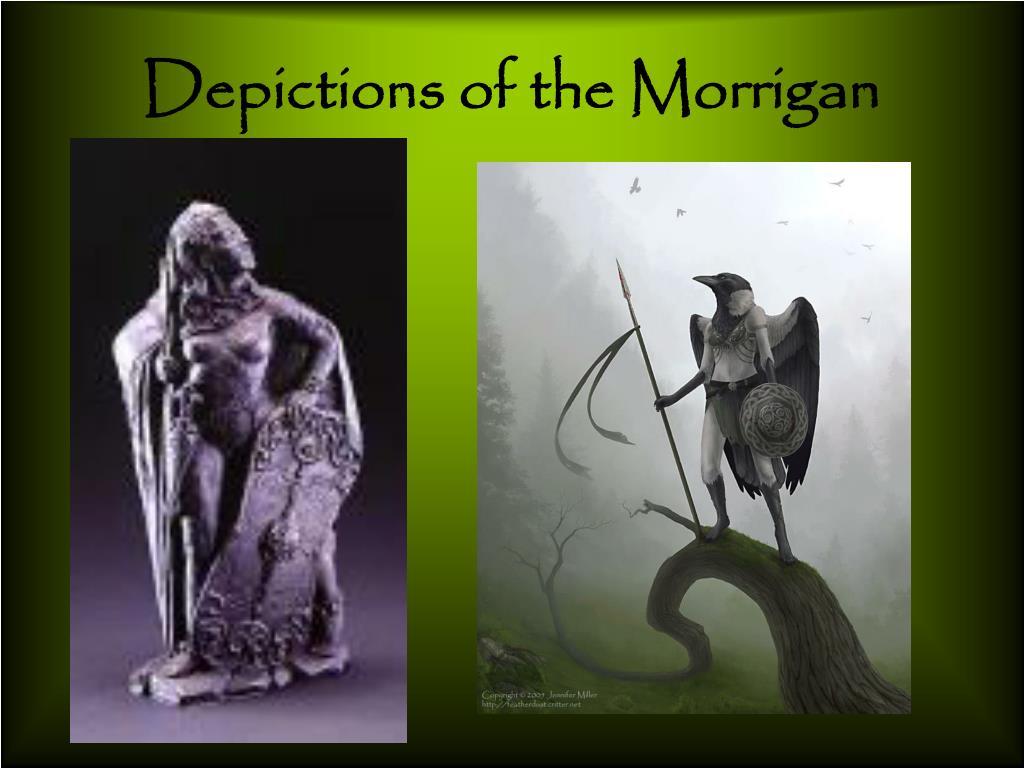 Depictions of the Morrigan