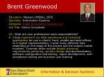 brent greenwood