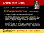 christopher barra