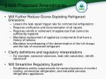 608 proposed amendments