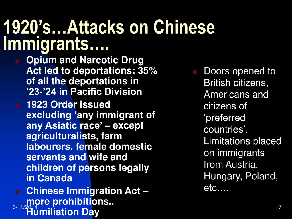 Opium and Narcotic Drug Act led to deportations: 35% of all the deportations in '23-'24 in Pacific Division