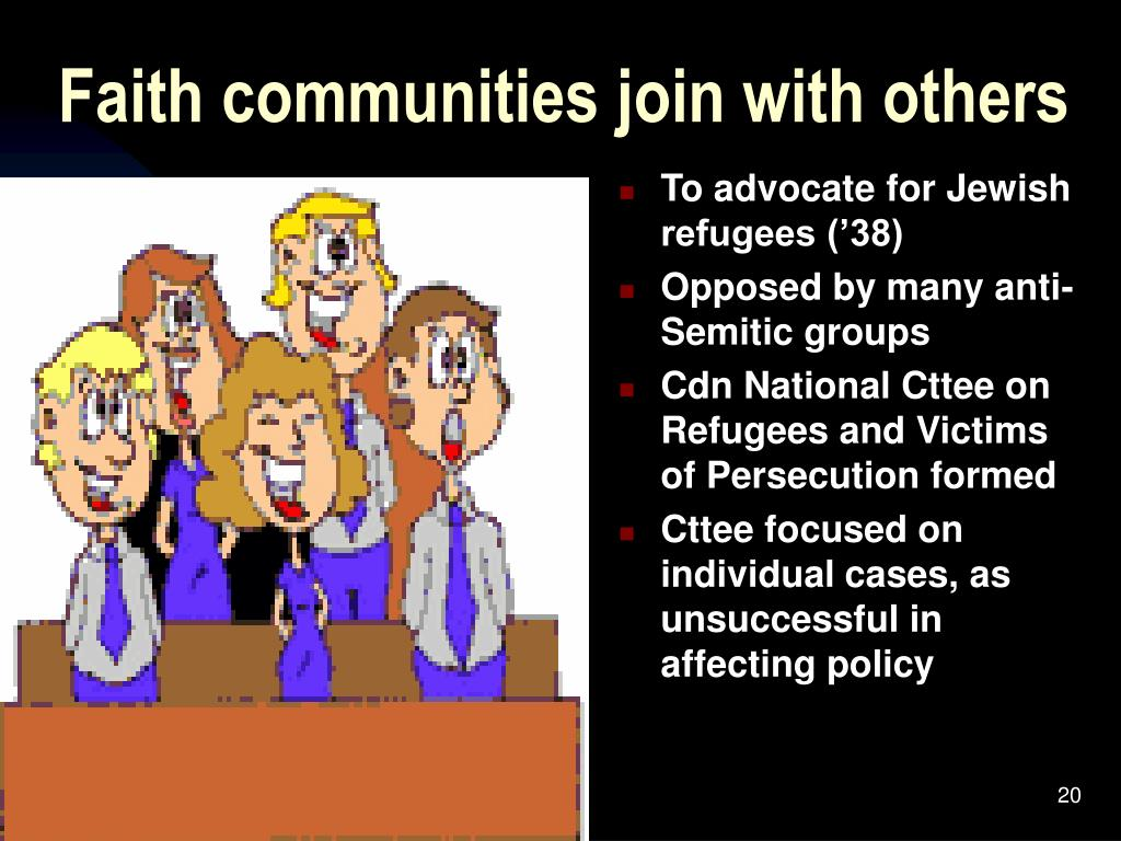 Faith communities join with others