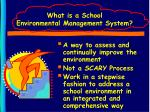 what is a school environmental management system