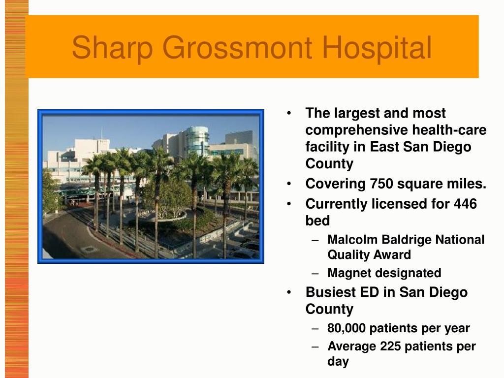 Sharp Grossmont