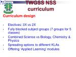 twgss nss curriculum11