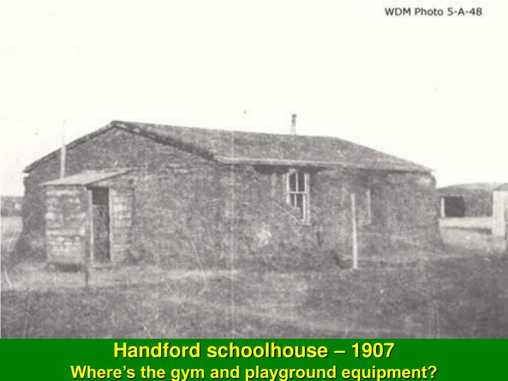 Handford schoolhouse – 1907
