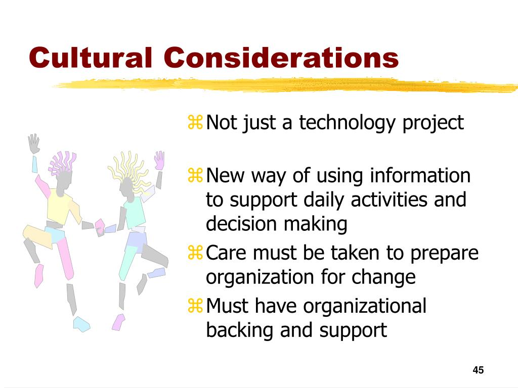 Cultural Considerations
