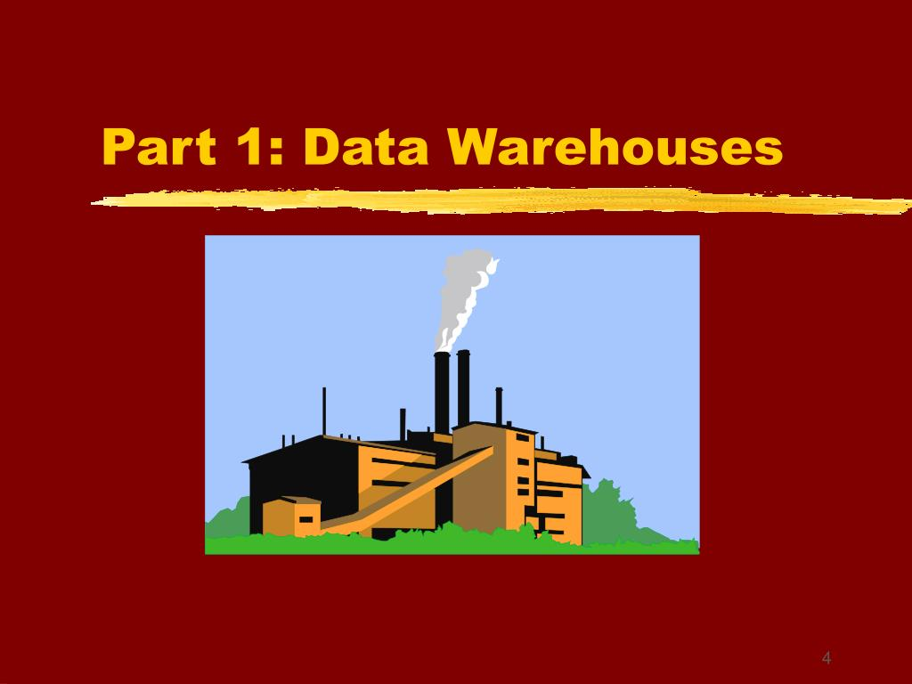 Part 1: Data Warehouses
