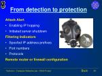 from detection to protection