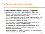 3 current issues and challenges