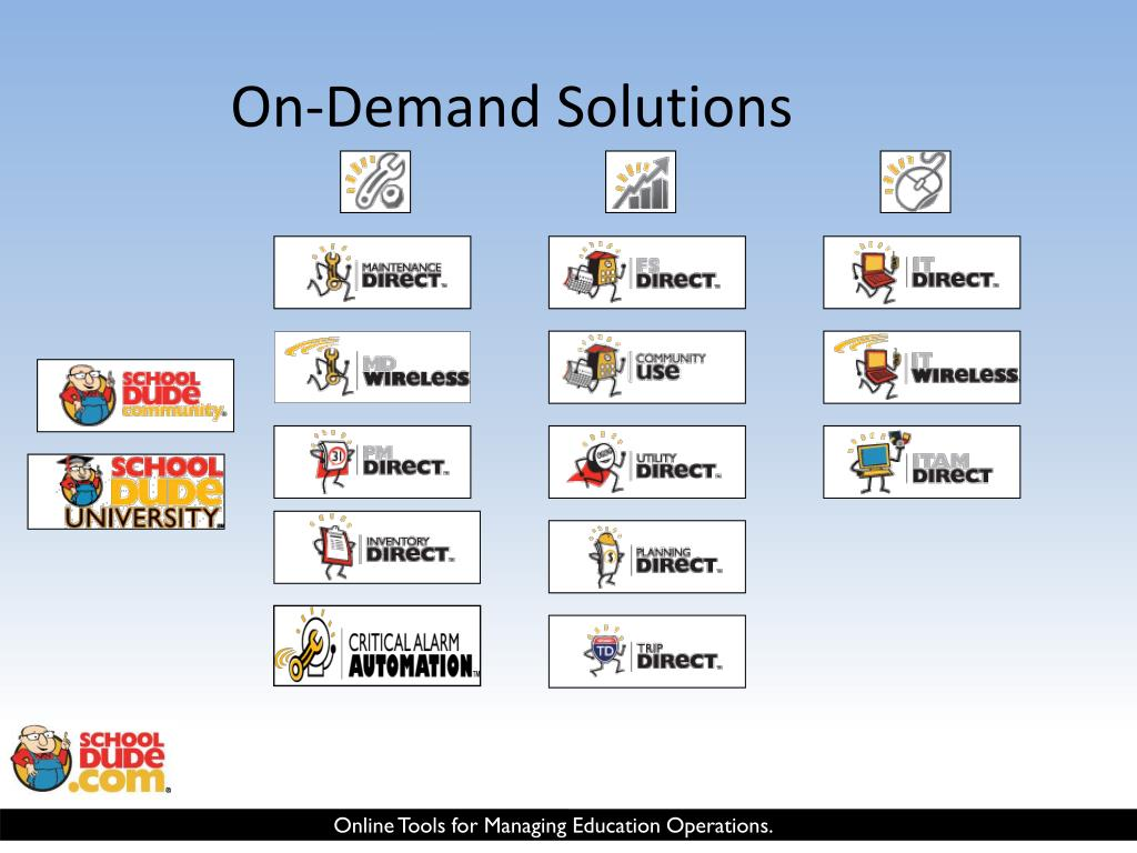 On-Demand Solutions