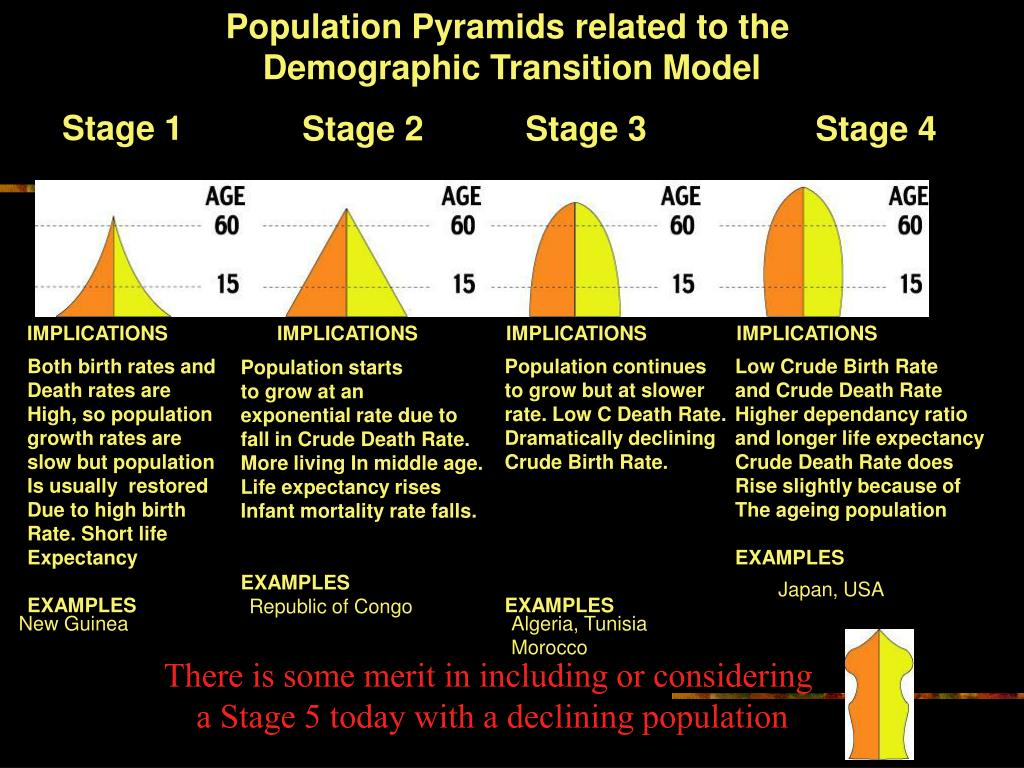 Population Pyramids related to the