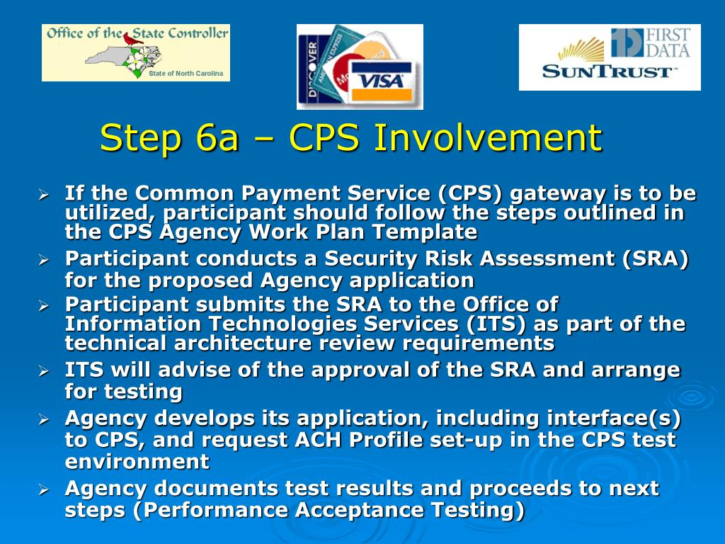 Step 6a – CPS Involvement