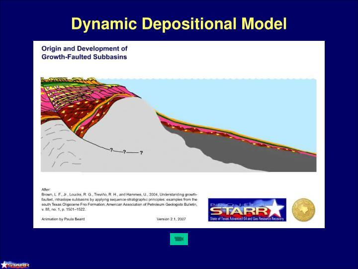 Dynamic Depositional Model