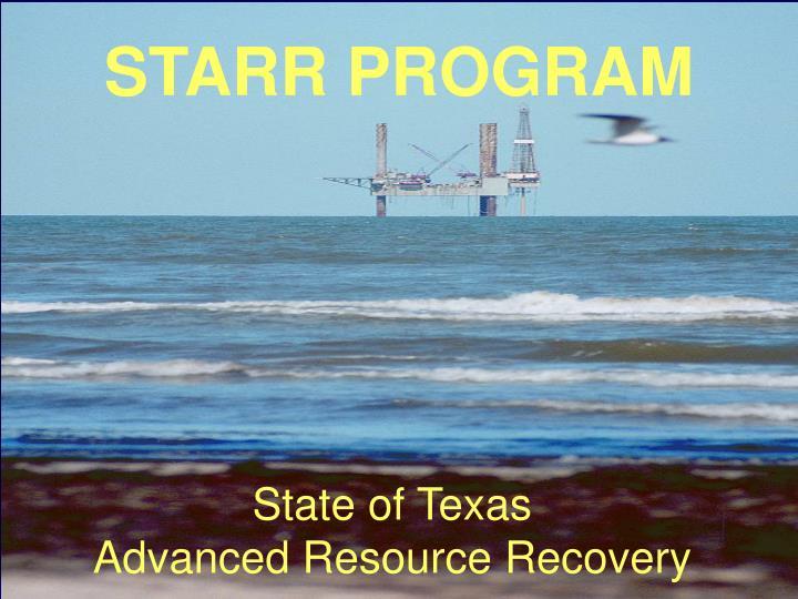 STARR PROGRAM