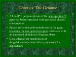 genetics the genome7