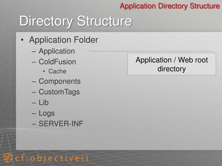 Application Folder