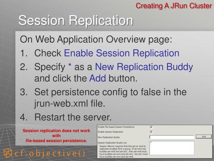 Creating A JRun Cluster