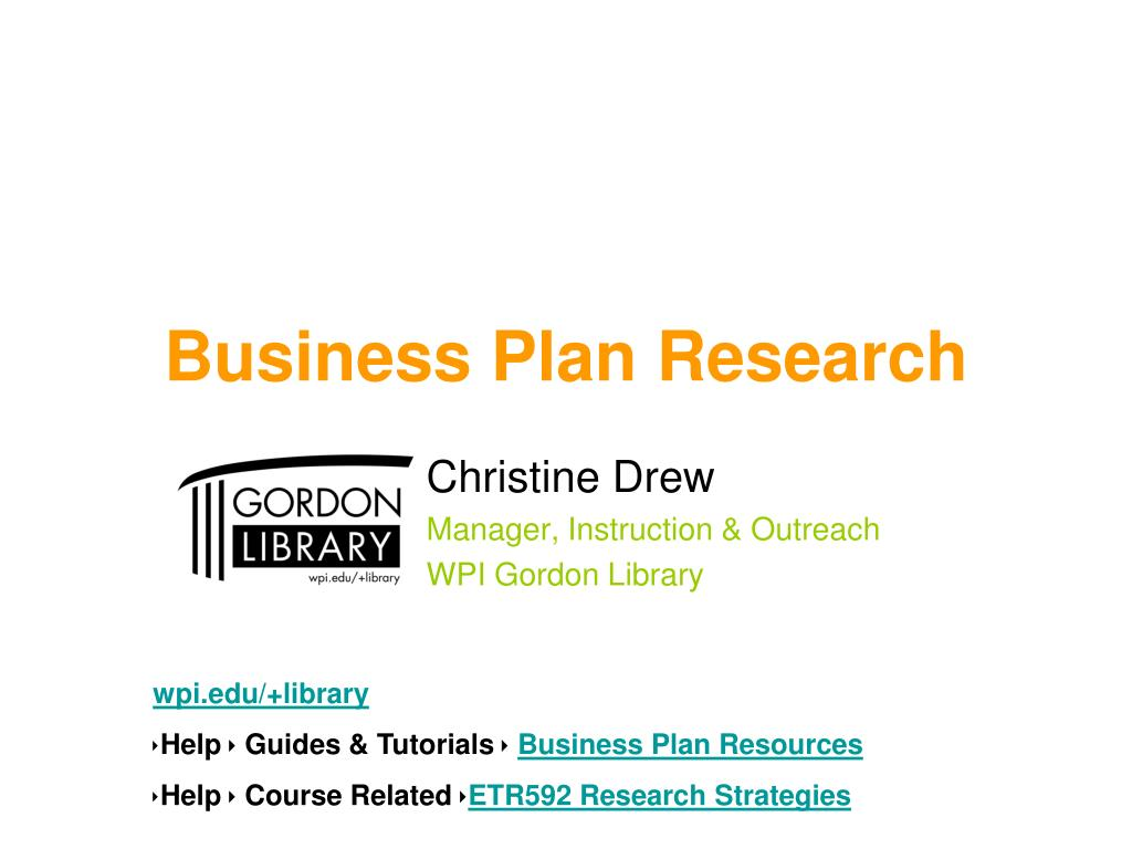 business plan research l.