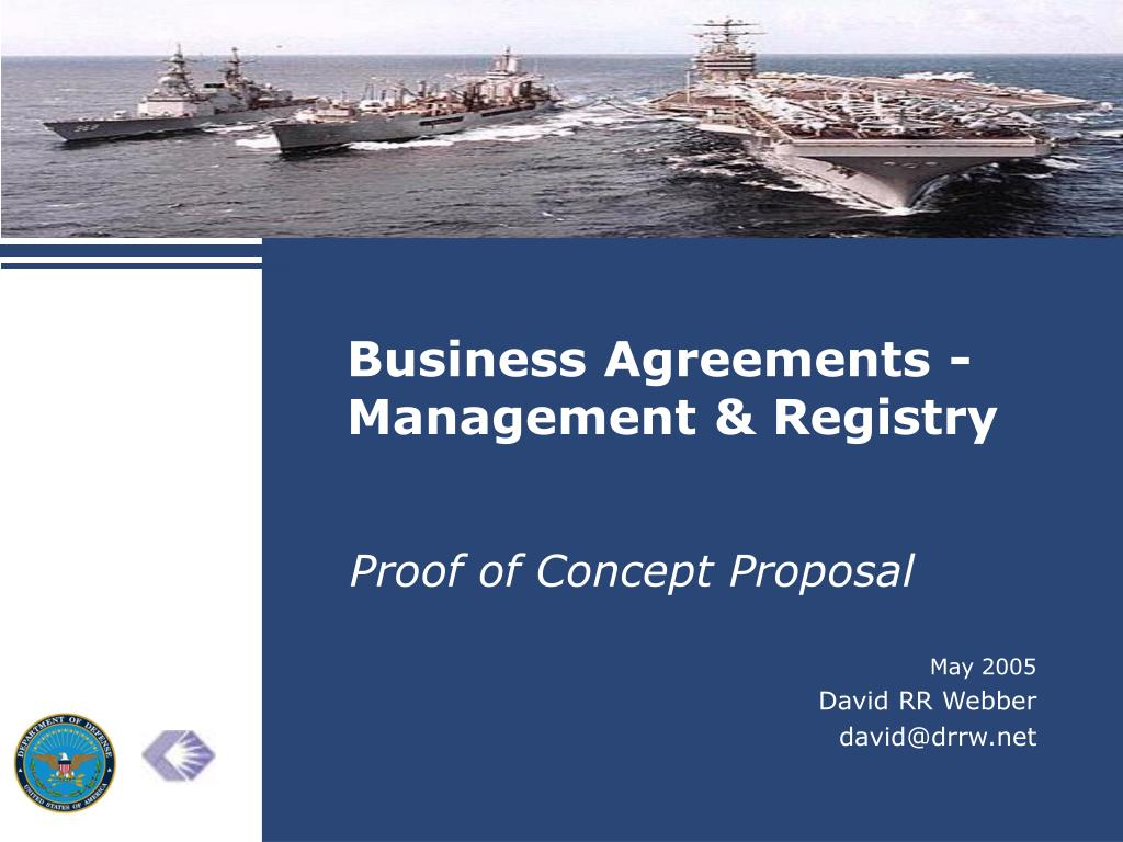 business agreements management registry l.