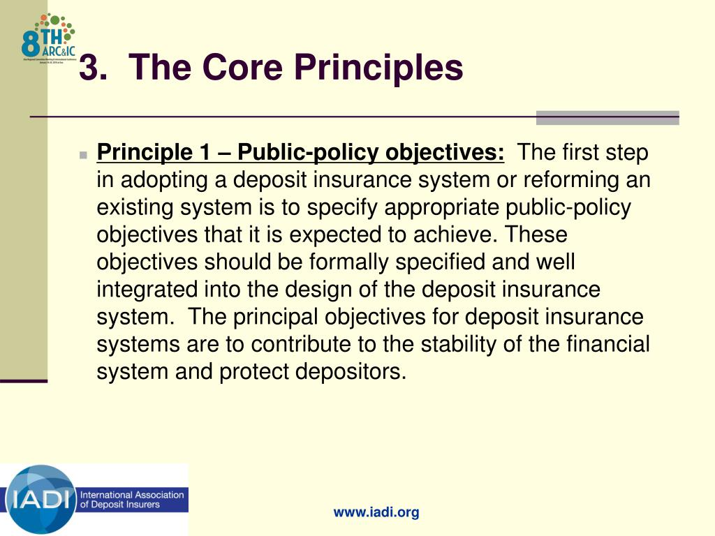 3.  The Core Principles