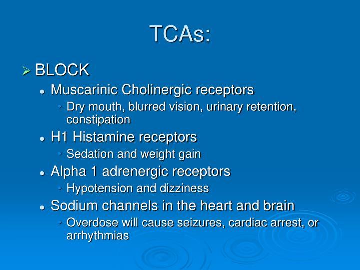 TCAs: